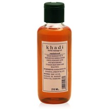 Khadi Sandalwood Massage Oil, 210ml Herbal Product No Chemical Pure Ayur... - $12.38