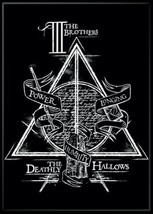 Harry Potter The Deathly Hallows Logo 3 Brothers Details Refrigerator Ma... - $3.99