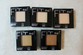 Maybelline Fit Me! Set & Smooth or Matte + Poreless Pressed Powder Variety - $10.79