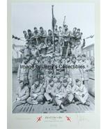 Erich Topp multi-signed by 5 print! U-Boat KC Winner. U-552 Red Devils.WWII - $165.00