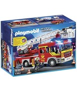 Playmobil 5362 City Action Fire Brigade Engine Ladder Unit with Lights a... - $165.00