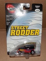 Street Rodder Cars Vehicles Hot Wheels NIB 2002 Mattel B2253 Midnight Otto 143X - $6.49