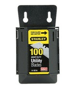 Stanley 11-921A 100 Pack Heavy Duty Utility Blades - $7.92