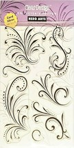 Hero Arts Fantastic Flourishes Stamp Set #CL106 - $12.55