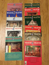 ChoIce MINIATURE COLLECTOR Magazine -1986-1989 ISSUES - OUT of Print - $2.49