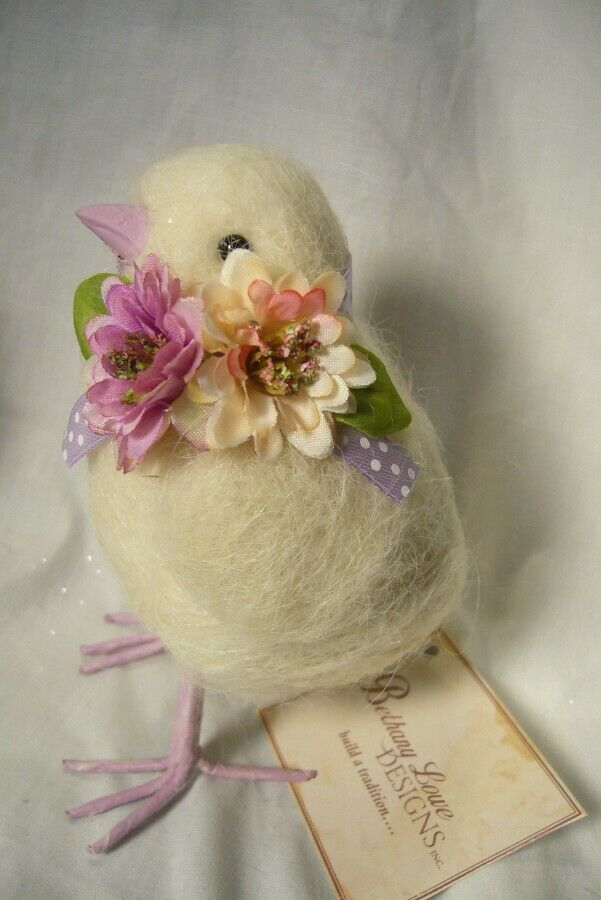Bethany Lowe Purple Bow Chick Spring or Easter