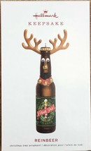 Hallmark 2019 REINBEER North Pole Pisner Reindeer Beer Bottle Ornament -... - $13.95