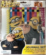 Despicable Me Journal Set with Lock Gel Pen and Stickers Minions  - $14.41