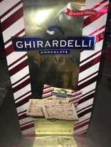 GHIRARDELLI ~ Candy Chocolate Squares Peppermint Bark 7.9 Oz. Bag ~ 09/2019 - $15.84