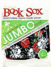 "Book Sox,Stretchable Fabric,10"" x 8"" (EX-Treme Skulls & Roses) - $9.54"