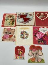 Vintage Lot Of Valentines Cards Hallmark - $9.89
