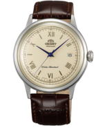 Orient Classic 2nd Gen Bambino #ac00009n FAC00009N0 Brown Leather Dress Watch - $181.00