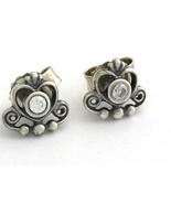 Authentic Pandora My Princess, Clear CZ Earrings, 290540CZ, New - $43.71