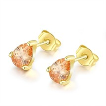 Fashion Gold Plated Rhinestone Earrings Earbuds Wedding Jewelry For Women Hot - $9.79