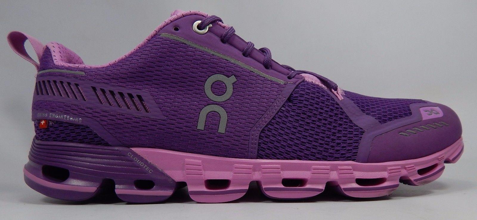 ON Running Cloudflyer Women's Running Shoes Size US 11 M (B) EU 43 Purple Pink