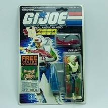 Gi Joe Cobra action figure toy vintage moc Hasbro 1988 Dee Jay DJ battle... - $138.55