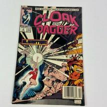 Cloak and Dagger Marvel Comics #3 Feb 1989 Comic Book - $9.89
