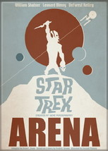 Star Trek The Original Series Arena Episode Poster Magnet, NEW UNUSED - $3.95