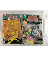 Batman And The Outsiders Comic Books  #18 #19  1985  Mike W Barr  Jim Aparo - $10.00