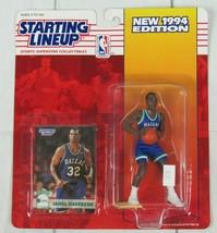 1994 Edition NBA JAMAL MASHBURN Rookie Dallas Mavericks Starting LineUp NIP - £4.57 GBP