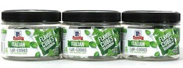 3 McCormick 2.53 Oz Flavor Cubes Seasoning Italian 1 Jar Makes 6 Dishes ... - $19.99