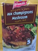 12 French's MUSHROOM Gravy Mix 21g Each -From Canada FRESH Delicious - $32.92