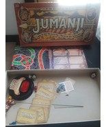 Jumanji Board Game Milton Bradley 1995 Family Game Night 99% Complete 2-... - $14.80