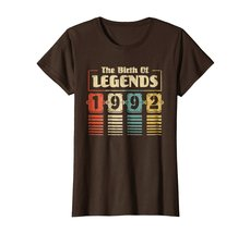 Funny Shirts - Retro The Birth Of Legend 1992 26th Birthday Gift 26 yrs old Wowe image 5