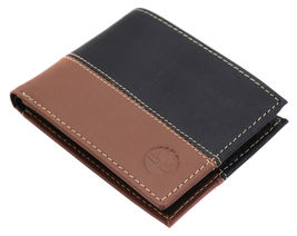 Timberland Men's Genuine Two Tone Leather Credit Card Billfold Commuter Wallet image 9