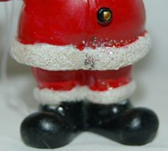 Generic 4 Different Santa Christmas Ornament Set 3 Inches image 4