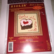 Riolis Create it Yourself Embroidery kit  New   1atk - $5.68
