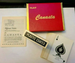 PLAY Canasta Double Deck Playing Cards Arrco Playing Card Co. Chicago image 3