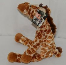 Mary Meyer Brand Fab Fuzz Collection 55460 Brown Tan Print Color JoJo Giraffe image 4