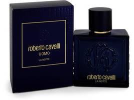 Roberto Cavalli Uomo La Notte Cologne 3.4 Oz Eau De Toilette Spray image 1