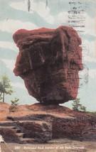 Balanced Rock Garden of the Gods Colorado CO 1910 Lexington MO Postcard B20 - $5.99