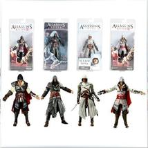 4pcs/set NECA Assassin's Creed Ezio PVC Action Figure Collectible Model ... - $122.00