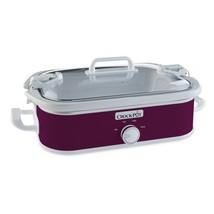 Crock-Pot 3.5-Quart Casserole Crock Manual Slow Cooker, Perfect Plum - €41,71 EUR