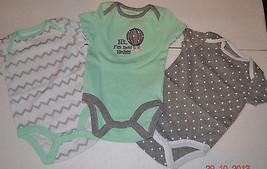 Circo Infant Bodysuits 3 PACK  Size -0-3M NWT  - $11.99