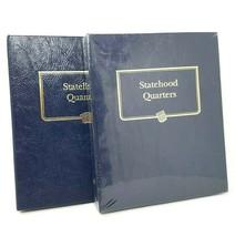 Whitman 9176 Statehood Quarters 1999 - 2008 Albums NEW Hardcover Books L... - $44.58