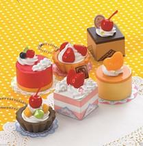 "Japanese DIY Whipple ""Fruits Petite Cake Set"" Fake Sweets Key Chain Maki... - $35.06"