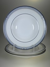 Royal Doulton Canterbury Rim Soup Bowls Set of 3 NEW WITH TAGS Made in UK - $30.81