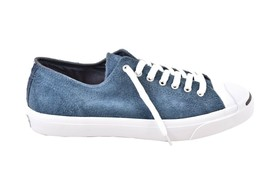 Converse Jack Purcell Oxford Suede Navy Trainers Size Mens US 12 RRP $137 - $75.00