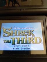 Nintendo Game Boy Advance GBA Shrek The Third image 1