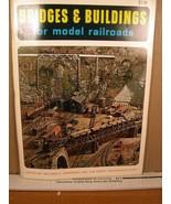 Bridges & Buildings For Model Railroads Willard Anderson 1965 - $12.59