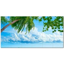Beach Ocean Ceramic Tile Mural Kitchen Backsplash Bathroom Shower BAZ400034 - $120.00 - $1,440.00