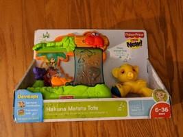 Hakuna Matata Tote Toy Disney Baby Simba Lion King Fisher Price - NEW - $42.06
