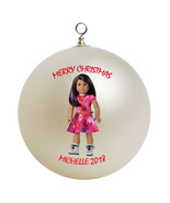Personalized American Girl Luciana Vega Christmas Ornament Gift - $16.95