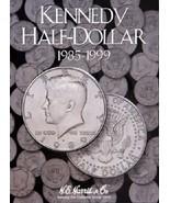 Kennedy Half Dollar Coin Folder Album #2, 1985-1999 by H.E. Harris - $6.49