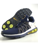 Nike Shox Gravity Size 11 Mens Running Shoes Midnight Navy Blue Metallic... - $119.99
