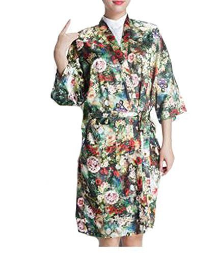 Primary image for Salon Client Gown Upscale Robes Hairdressing Gown for Clients, Flower